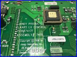 JANDY LAARS PCB 7417F Pool/Spa Heater Controller LX Model 7418 Lx C13 used #D220