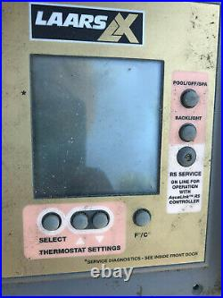 Jandy LAARS LX 7417F Pool/Spa Heater Circuit Board and display planel