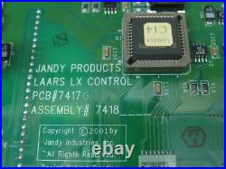 Jandy LAARS PCB 7417G Pool/Spa Heater Controller LX Model Assembly 7418 M LxC14
