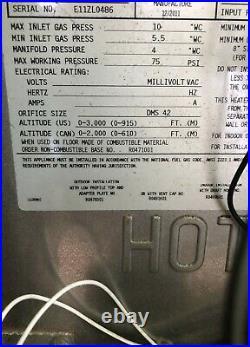 Jandy LRZ 125,000BTU Pool / Spa Heater