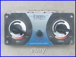 LAARS Electronic Dual Pool/Spa Heater Temperature Control T8205C1005