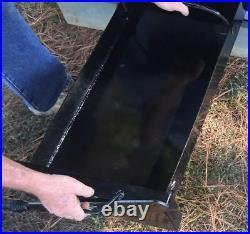 LEAST EXPENSIVE POOL or SPA HEATER Outdoor Wood Burner Boiler Furnace Outside