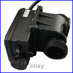 LX H20-Rs1 heater 2kw with adjustable thermostat for bathtub spa pool heater