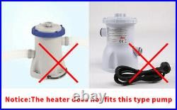 LX H20-Rs1 heater 2kw with adjustable thermostat for hot tub spa pool heater