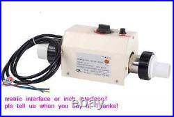 New 2KW water heater thermostat for home swimming pool &SPA ONLY 220V