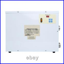New 9KW 220V Electric Pool Heater Swimming Pool SPA Heater Electric Thermostat
