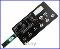 Pentair 472610Z Switch Membrane Pad Replacement MasterTemp Pool or Spa Heater