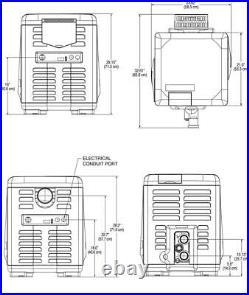 Pentair MasterTemp Natural Gas 400K Pool and Spa Heater (EC-462028)