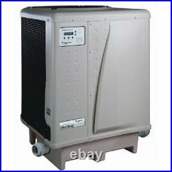 Pentair UltraTemp 460935 Swimming Pool & Spa Heater 127K BTU Almond Heat/Cool