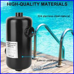Pool Heater Exchanger Thermostat Swimming Pool SPA Electric Water Heater Pump