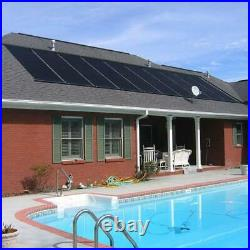 Pool Heater Solar Panels Inground Above Ground Sun Spa Swimming Outdoor Roof NEW