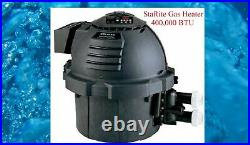 Pool and Spa Heater 400,000 BTU Natural Gas