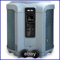 Premium Pool Heat Pump Pool & Spa Super Quiet Swimming Heater 53000 BTU Digital