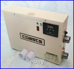 Promotion! COASTS 7.5KW WATER THERMOSTAT HEATER ST-7.5 for SWIMMING POOL POND SPA