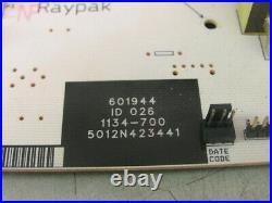 Raypak 601944 Pool Spa Heater PCB Display Control Circuit Board 1134-700 LONOX