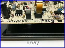 Raypak RP 2100 601769 Pool/Spa Heater Display Control Board 1134-403 used #P359