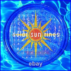 Solar Sun Rings UV Resistant Pool & Spa Heater Circular Solar Cover (9 Pack)