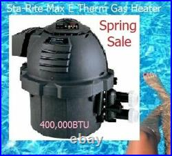 StaRite Pool & Spa Gas Heater Nat Gas 400,000BTU SR400NA