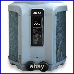Super Quiet Swimming Pool Heat Pump Pool & Spa Heater 53000 BTU Digital Display