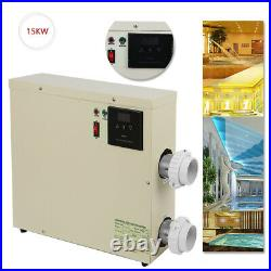 Tube 240V Electric 15KW Thermostat Swimming Pool Updated SPA Heater Water