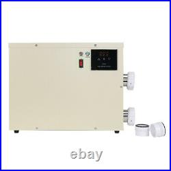 U 5.5KW 240V Pool Heater Thermostat Swimming Pool SPA Electric Water Heater Pump