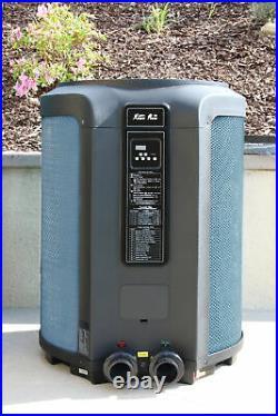 Ultra Quiet 65K BTU Swimming Pool Heat Pump & Spa Heater Digital LED 65000BTU