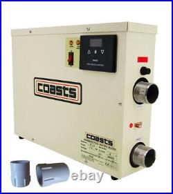 Upgrade! 15KW WATER HEATER THERMOSTAT for SWIMMING POOL BATH SPA/BATHTUBE SHOWER