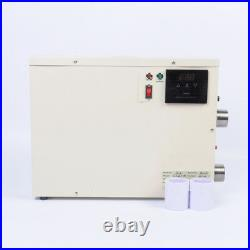 V0 15KW Electric Swimming Pool Thermostat SPA Hot Tub Water Heater 220V 240V