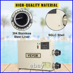 VEVOR Electric SPA Heater Swimming Pool Thermostat 15KW 240V for Bath HotTub