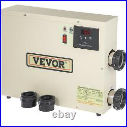 VEVOR Electric SPA Heater Swimming Pool Thermostat 18KW 240V for Bath HotTub