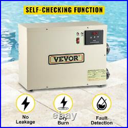 VEVOR Electric SPA Heater Swimming Pool Thermostat 5.5KW 240V for Bath HotTub