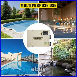 VEVOR Electric SPA Heater Swimming Pool Thermostat 9KW 240V for Bath Hot Tub
