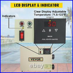 VEVOR Electric Water Heater Thermostat 15KW 240V Swimming Pool & Hot BathTub SPA