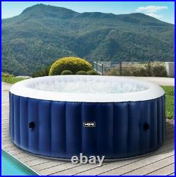 Wave Luxury Inflatable Hot Tub Pool Spa Massage Outdoor Jacuzzi (4-6 Person)